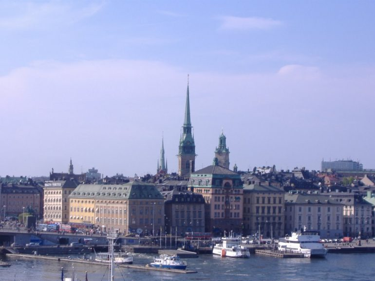 Walking Tour of Stockholm 1