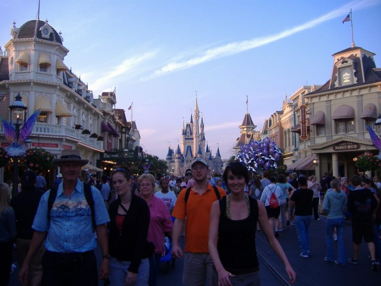 Visiting the Magic Kingdom 8