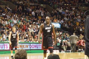 Shaun lives out a boyhood dream - Court side Celtics 13