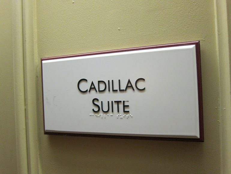 The Not-So Suite Cadillac 1