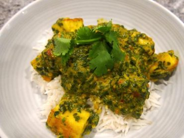 Quick and Easy Palak Paneer 11
