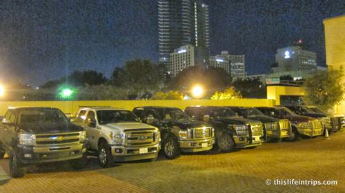 The valet at our hotel. Texas!