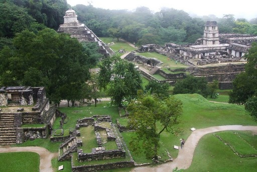 Mayan ruins of Palanque in southern Mexico