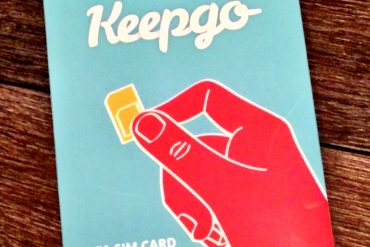 KeepGo International SIM Review - Connected #RTW 2