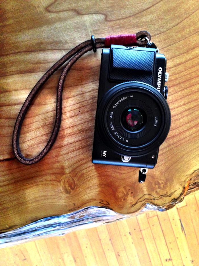 Hip filters for a hip camera strap