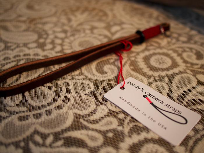 Gordy's Camera Strap - Handcrafted and super hip.