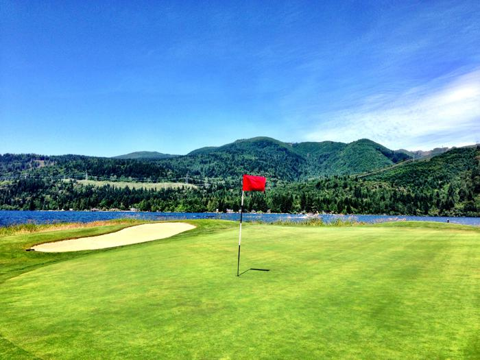 Golfing Bellingham