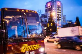 Vancouver to SEATAC via Quick Shuttle 2
