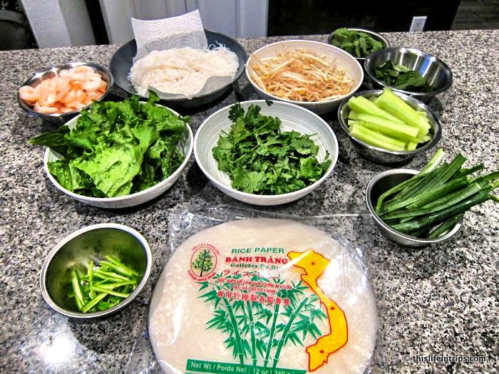 How to Make Almost Authentic Vietnamese Salad Rolls