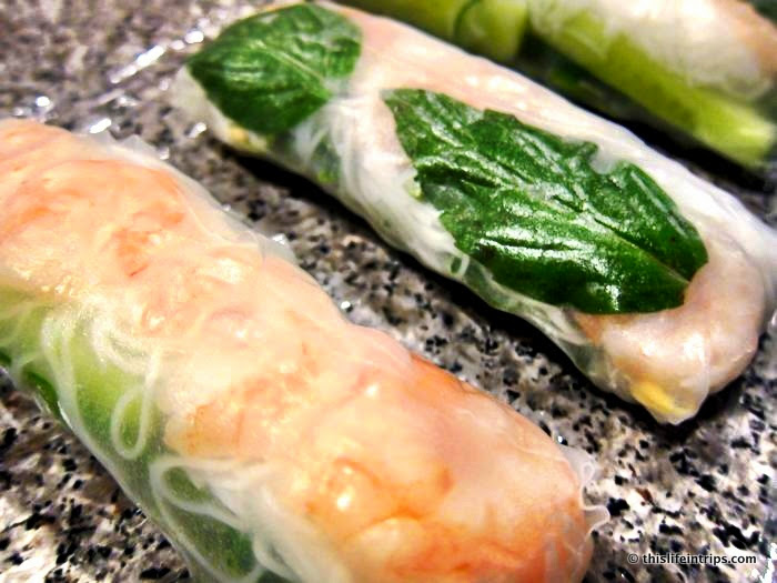 How to Make Almost Authentic Vietnamese Salad Rolls 6