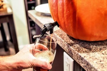 How to Make a Pumpkin Keg - The Manly Jack o'lantern 2