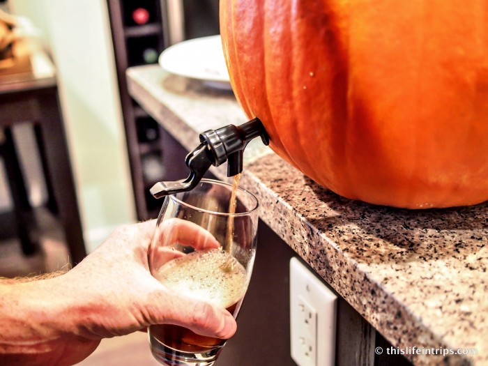 How to Make a Pumpkin Keg - The Manly Jack o'lantern 2