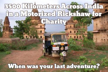 India via Rickshaw. Who's with me?? 5