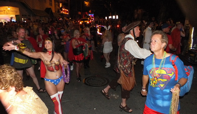 Fantasy Fest - of of many odd things to do in Key West via @Cayobo Flickr CC