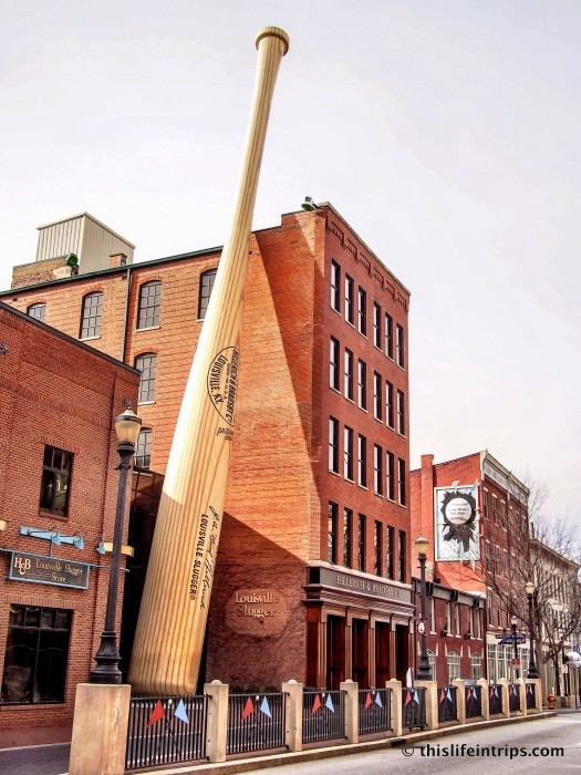 visiting the Louisville Slugger factory