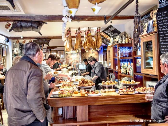 San Sebastian Pintxo bars