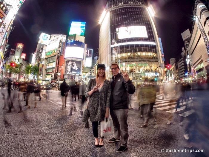 Shooting Shibuya with Eyexplore Tokyo 2