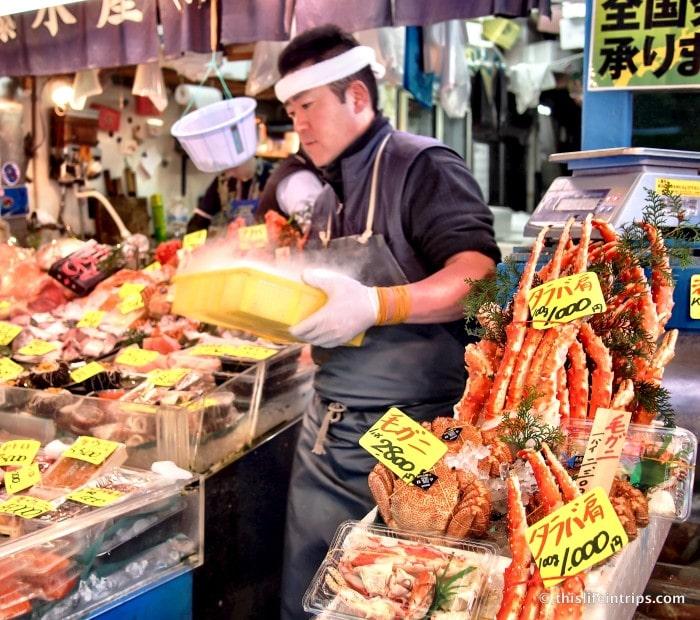 Tasting Tsukiji Market with Tokyo FooDrink