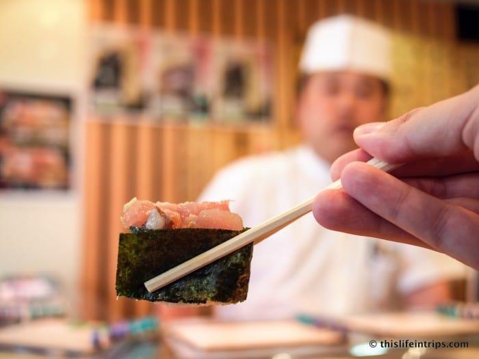 Tasting Tsukiji Market with Tokyo FooDrink 12