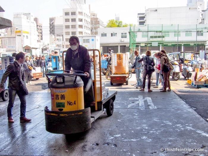 Tasting Tsukiji Market with Tokyo FooDrink 14