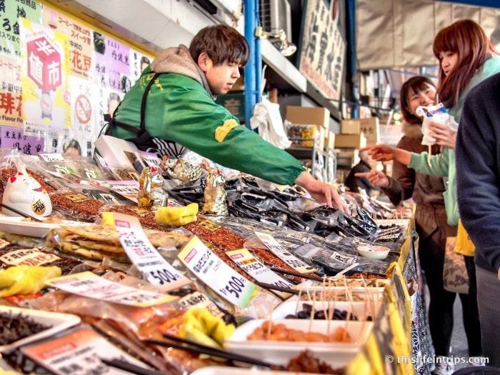 Tasting Tsukiji Market with Tokyo FooDrink 37