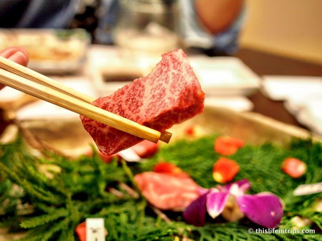 Eating Kobe Beef in Osaka…sort of 6
