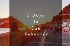3 Days in San Sebastian 14