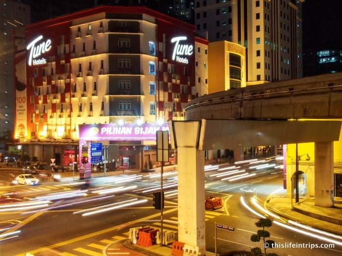Build your own Stay - Tune Hotel KL Downtown Review 1