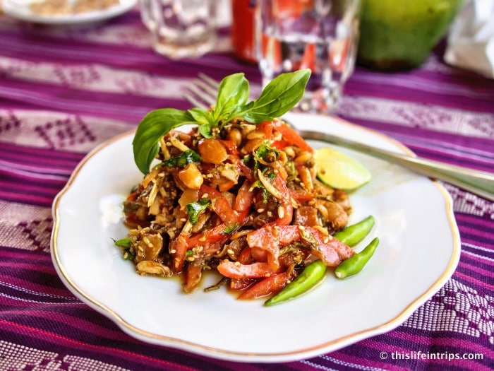 Burmese Dishes not to be missed