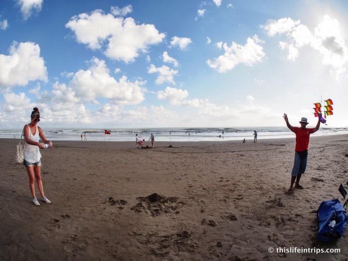 A Photo Walk Along Kuta Beach | This Life in Trips
