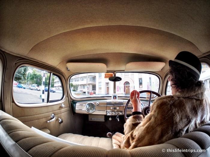 Art Deco Vintage Car Tour