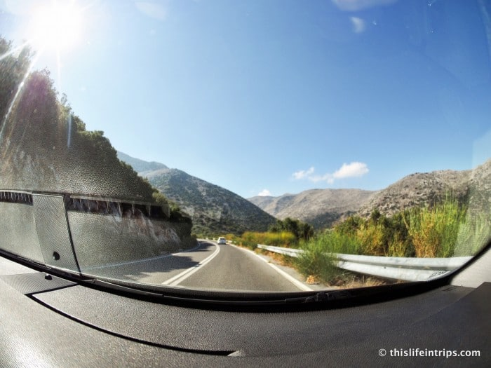 My Crete Road Trip & why I will Never Drive in Greece again
