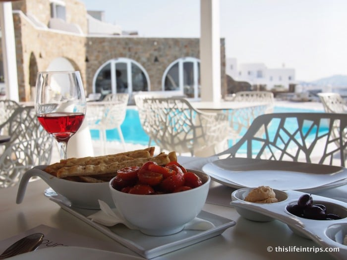 Modern Mykonos Charm at the Kouros Hotel 1