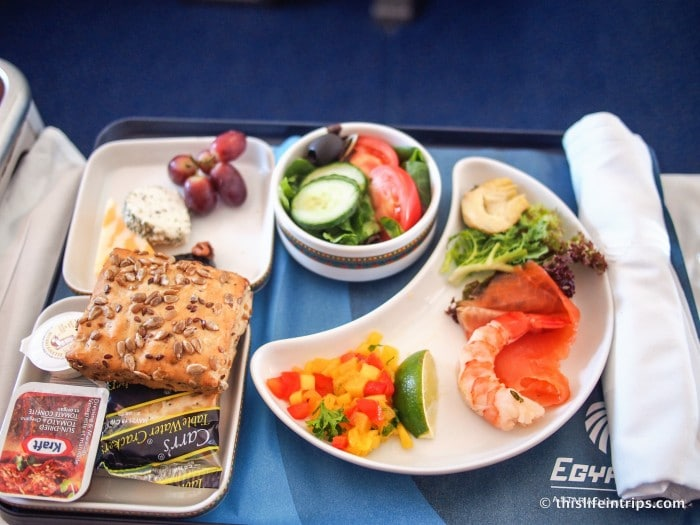 EgyptAir Business Class Review