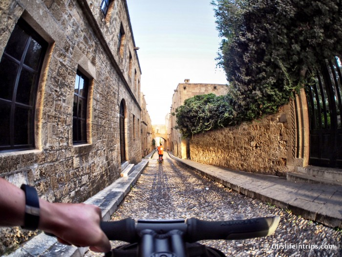 That Time I was a Modern Day Knight - Rhodes Segway Tours Review 2