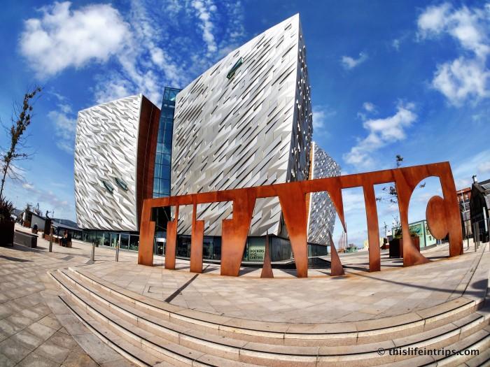 Experiencing the Titanic Belfast Museum
