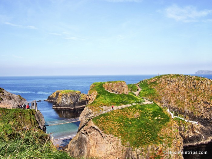 Visiting Carrick-a-Rede Rope Bridge | A Northern Ireland Must