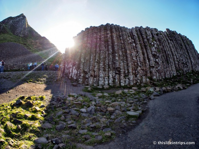 Touring the Giants Causeway