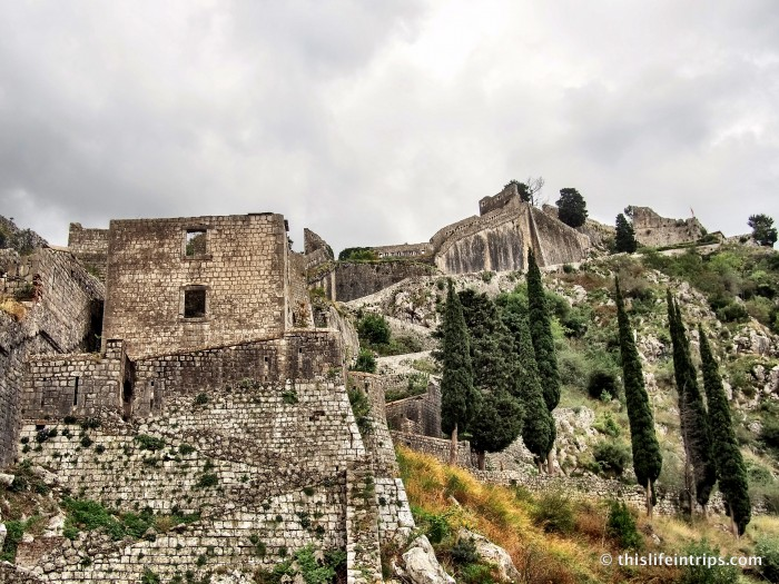 Climb Kotor's City Walls