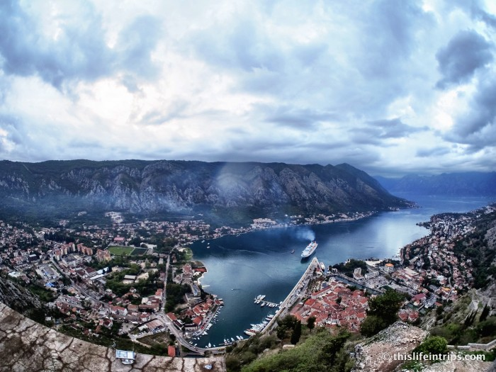 Climb Kotor's City Walls