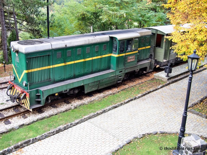 A Wobbly ride on Serbia's Šargan Eight Railway 4