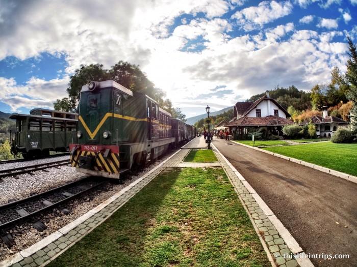 Memorable European Train Station