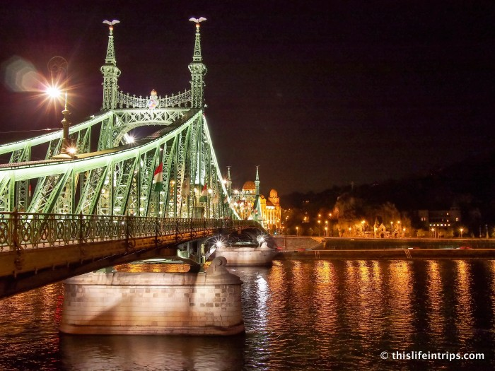 Hopping on and off in Budapest