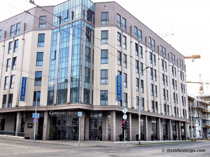 A Rock 'n' Roll stay at the Vilnius Comfort Hotel LT 9