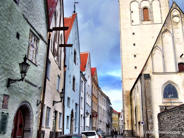 through Tallinn's old town