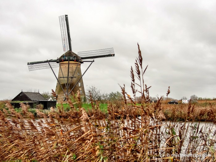 around The Kinderdijk Windmills