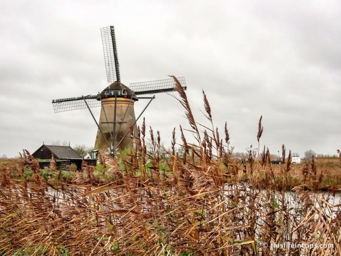 around The Kinderdijk Windmills