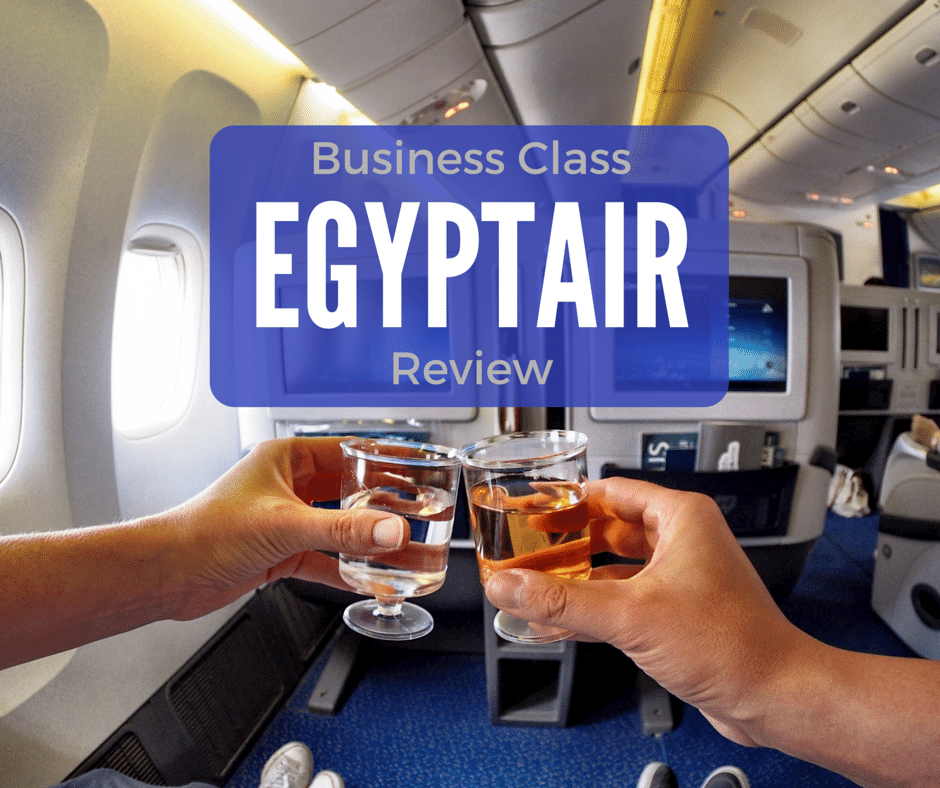 Africa Business Class: EgyptAir Business Class Review