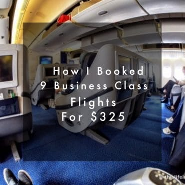 How I Booked 9 Business Class Flights for $325