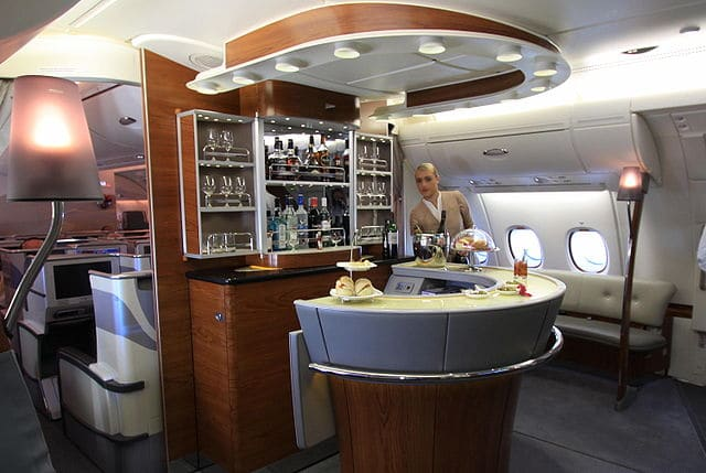 First Class Cabins Bigger than Your Apartment 1